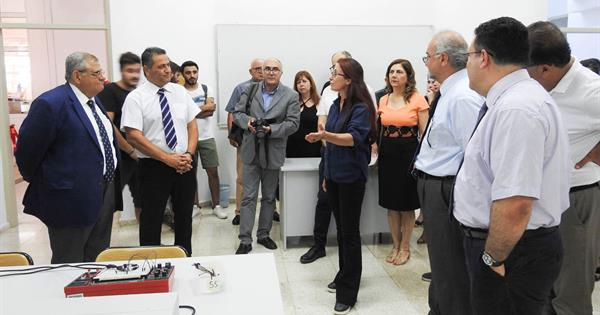 Three Laboratories Named After Ömer Can Akman at the EMU Department of Electrical and Electronics Engineering