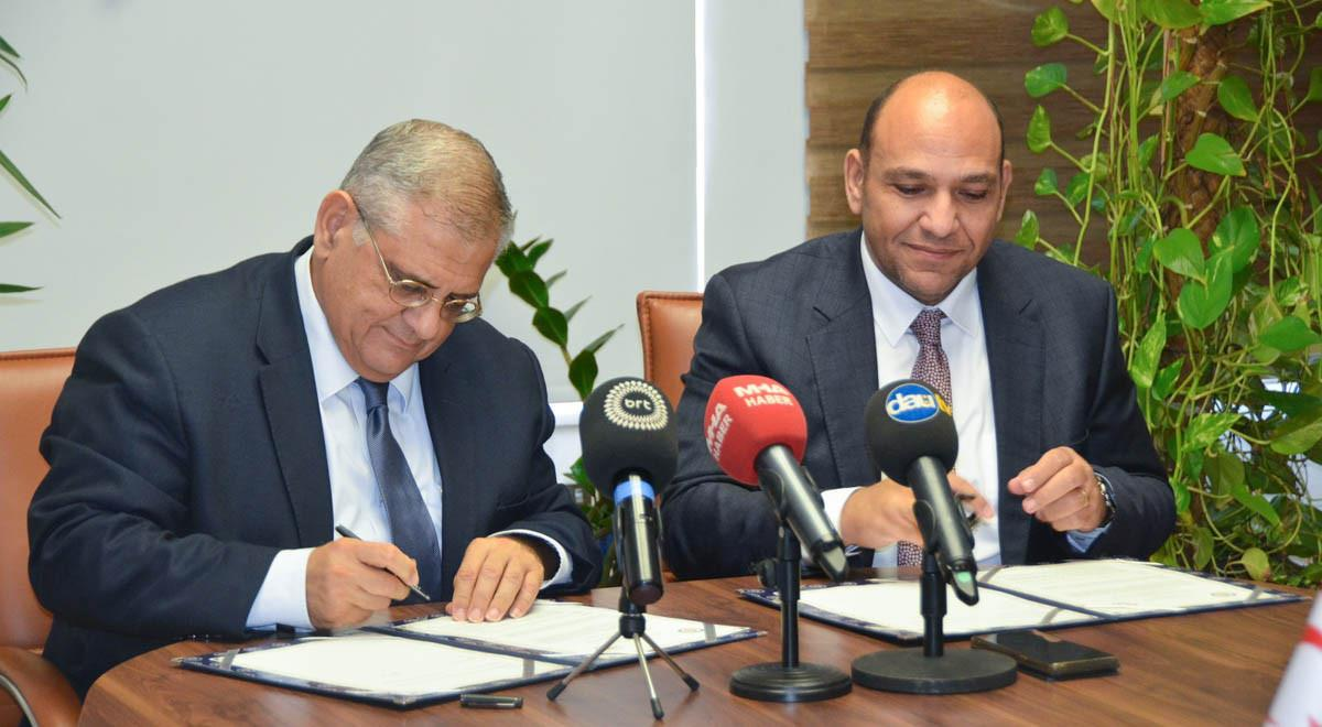 EMU and TRNC Ministry of Public Works and Transportation Sign Collaboration Protocol