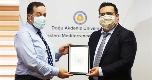 Members of the Parliament Denktaş, Ataoğlu and Arabacıoğlu Visited EMU