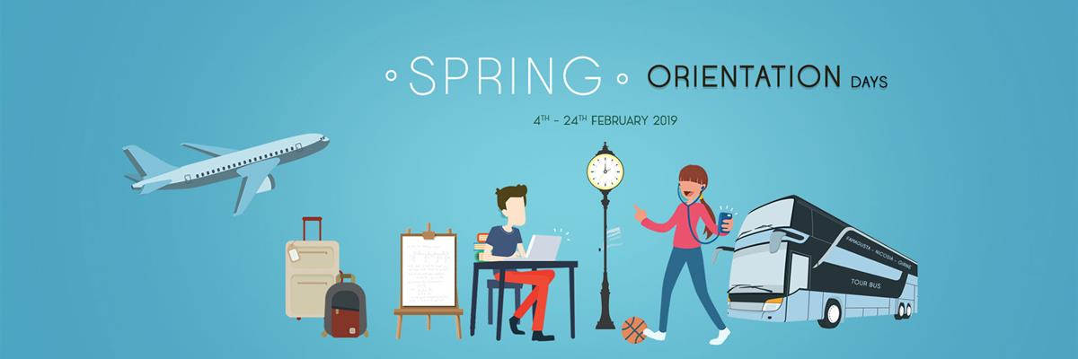 Oriention Days : 4-24 February 2019