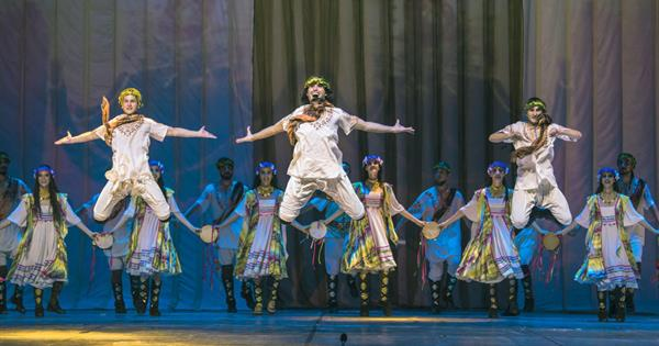 Fire of Anatolia Perform 'Troy' Musical at EMU